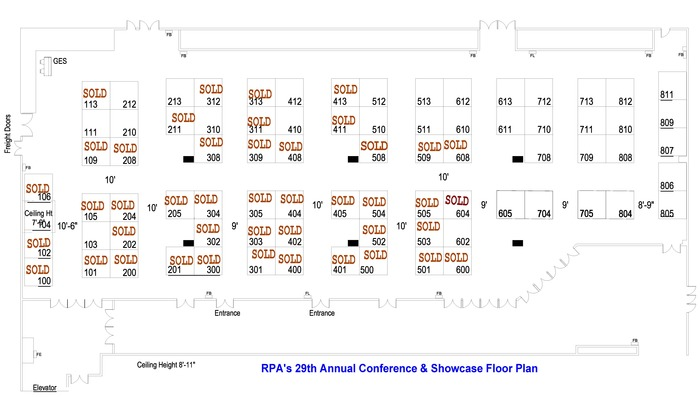 2018 Rpa Floorplan Sold Booths Working File